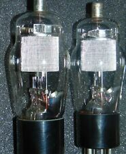 MESH PLATE NOS PAIR WESTERN ELECTRIC PENTODE 290A TUBES  310A FOR 300B AMPLIFIER