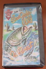JOHN FOX'S BASS FISHIN' USA ~ OUT WEST ~~ Locate/catch bass on Lake Powell  VHS