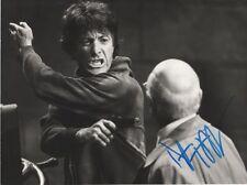 "Dustin hoffman ""marathon man"" autógrafo signed 18x25 cm imagen S/W"