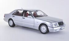 NOREV MERCEDES BENZ S320 DEALER EDITION SILVER 1:18*BRAND NEW*RARE FIND*Nice!!