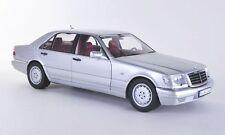 NOREV MERCEDES BENZ S320 DEALER EDITION SILVER 1:18 Back in Stock*Nice Car!