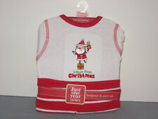 Carters Babys First Christmas Two Piece Outfit Santa Bodysuit Pants Newborn NWT