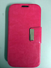 Funda Flip para SAMSUNG GALAXY GRAND NEO I9060 COLOR ROSA FUCSIA ALTA CALIDAD