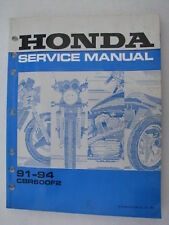 Honda Genuine Shop Service Manual CBR600F2 CBR600 F2