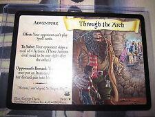 HARRY POTTER TCG CARD DIAGON ALLEY THROUGH THE ARCH 29/ 80 RARE ENGLISH MINT