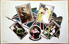 1910 Realphoto Theatre/Stage Actress Postcard: Thelma Ray/Alice Hatton/Loftus +