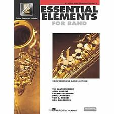 Essential Elements 2000 Eb Alto Sax Book 2 with play-along Cd