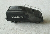 Vintage Mantua HO Scale Diecast Plastic Santa Fe Tender Car