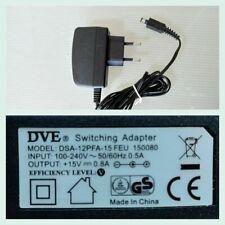 Alimentatore per modem ADB Broadband S.P,A Telecom 15V-0.8A DSA18PFA-15FEU150080