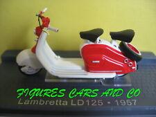 1/24 MOTO CLASSIQUE  LAMBRETTA LD 125 1957 MOTORCYCLE