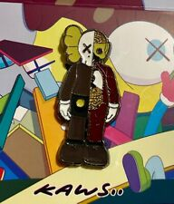 KAWS Companion Dissected Brown Rare supreme enamel pin brooch lapel