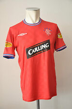 Glasgow Rangers Football Trikot Jersey Gr S Umbro rot Carling Clydesdale Patch
