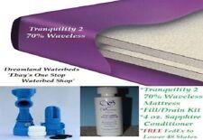 King/California Kg Boyd 70% Waveless Waterbed Mattress + Kit-Factory Direct