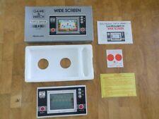 Rare **TURTLE BRIDGE** 1982 NINTENDO Game and Watch  TL-28   boxed!!