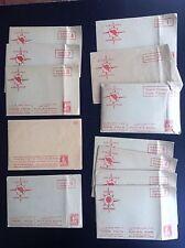 Lot de chromos du Timbre Tintin dans leur enveloppe