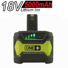 5.0AH 18V Li-ion Battery for RYOBI One Plus RB18L25 RB18L50 P108 P107 P104 P780