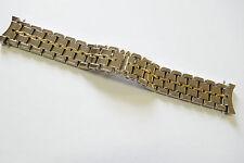 Girard PERREGAUX ACCIAIO GIALLO nastro, 20 MM, ref. 1100, 1120, NOS