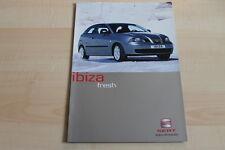 97923) Seat Ibiza - Fresh - Prospekt 01/2003