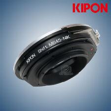 New Kipon Shift Adapter for Mamiya 645 mount Lens to Nikon F mount Camera