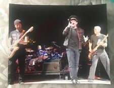 BONO+ THE EDGE SIGNED 8X10 PHOTO U2 BAND W//COA+PROOF RARE WOW