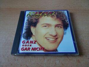 CD Peter Rafael - Ganz oder gar nicht - 1993 incl. Heut Nacht oder nie mehr