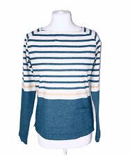 NEW SEASALT Ladies Teal Shore Stippler Top Organic Cotton 8 10 12 14