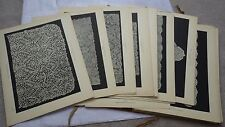 1914 Large Folio DENTELLES ANCIENNES DE LA COLLECTION ALFRED LESCURE, Laces