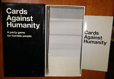 550 Cards Against Humanity Base Pack Satire Party Card Game 4 horrible people ?!
