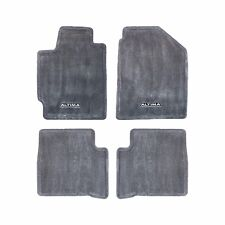 2002-2004 Nissan Altima Charcoal Carpeted Front & Rear Floor Mats Set OEM NEW