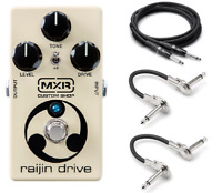 New MXR CSP037 Raijin Drive Overdrive/Distortion Effects Pedal Free Hosa Cables