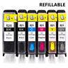 Refillable Canon PGI-520 CLI-521 Ink Cartridges For Canon IP3600 IP4700 MP540