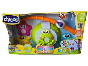 Chicco Fit 'n' Fun Fishing Island - NEW - PACKAGING TORN - TOY COMPLETE AND NEW
