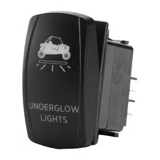 UTV Underglow Dash Rocker Switch Blue or Red Light Available