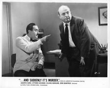 """Alberto Sordi, Bernard Blier """"And Suddenly It's Murder"""" vintage movie still"""