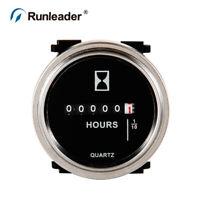 (Silver)Digital LCD Hour Meter, DC6V to 80V, Total Hours for compressor mower