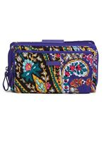 """NWT Vera Bradley Iconic Deluxe """"All Together"""" Crossbody bag in ROMANTIC PAISLEY"""