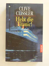 Clive Cussler Hebt die Titanic Roman Thriller Goldmann