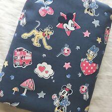 "Cath Kidston Half Yard Cotton Fabric 57""(145cm) Wide_Disney Gang Gray PF030"