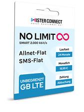 Handyvertrag Handytarif Allnet Flat SMS Internet Unlimited Max LTE 19,99 ? mtl