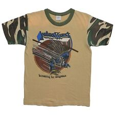 Judas Priest shirt vintage tshirt Screaming For Vengeance 1983 Rare Camo Sleeves