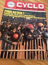 Cyclo moto 231 Peugeot 103 , Solex 6000 Motobécane 125 , poster Bol d'or ... etc