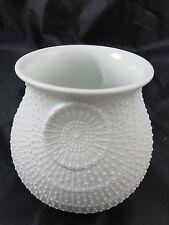 AK KAISER Vase Porzellan Vase Tisch Vase Biskuitporzellan Weiß, M.Frey