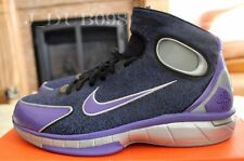 NIKE AIR ZOOM HURACHE 2K4 KOBE BRYANT NEW SIZE 11.5 309957-051 BLACK PURPLE RARE