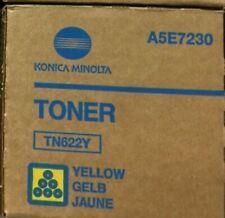 New Konica Minolta Bizhub Press C1085 C1100 TN622Y Yellow Toner