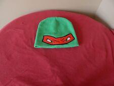 Teenage Mutant Ninja Turtles Rapheal Stocking Skull Hat Adult Cap **pre-owned**