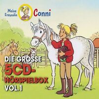 CONNI - DIE GROßE 5-CD HÖRSPIELBOX VOL.1  5 CD NEU