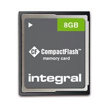 Integral 8 GB CompactFlash I Card - (INCF8GV2)