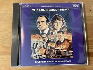 THE LONG GOOD FRIDAY (Francis Monkman) OOP 1989 Silva Score Soundtrack CD NM