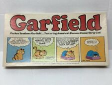 Vintage 1978 Garfield Board Game 100% Complete By Parker Brothers
