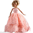 New Handmade Two Tier Pink Party Dress Clothes Outfits For Barbie Doll #1105